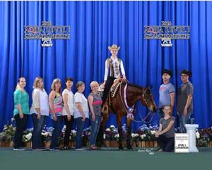 katie schols youth aqha all around3